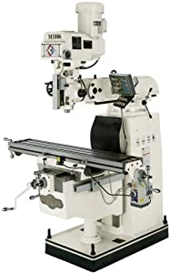 SHOP FOX M1006 10-Inch by 54-Inch Vertical Mill with Digital Readout