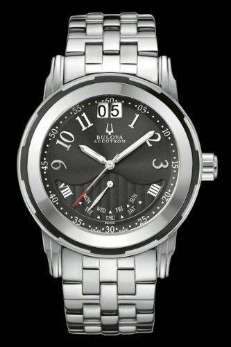 Men's Bulova Accutron 65C105 Swiss Made Sapphire Crystal Watch