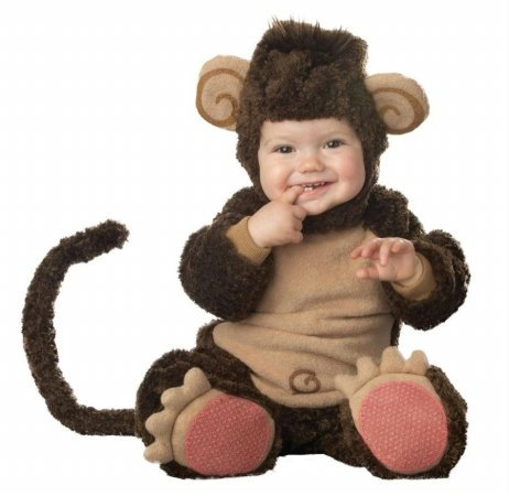 Costumes For All Occasions Ic6005T Lil Monkey Lil Character 18M-2