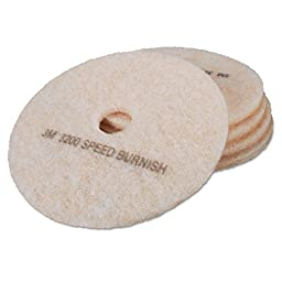 3M MCO 18069 MMM18069 3200 Ultra High-Speed TopLine Floor Burnishing Pads, 24\