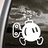 SUPER MARIO Decal BOMB-OMB NES NINTENDO Car Sticker