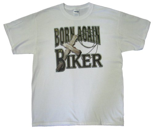 Biker T-shirt Born Again Biker S-5XL