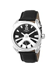 Lancaster Men's  OLA0346SS/NR Lanza stainless steel and Black Dial Watch Model