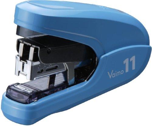 マックス ホッチキス バイモ11 フラットクリンチ 40枚とじ ブルー HD-11FLK/B