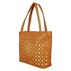 Glory Fashion Women's Stylish Handbag Musturd BB-001-B00193