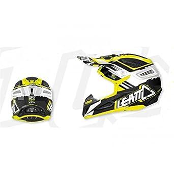 Casque leatt gpx 5.5 composite jaune/noir t.l - Leatt 433448L