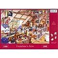 1000 Piece Jigsaw Puzzle Grandma's Attic - Full Of Toys & Memories