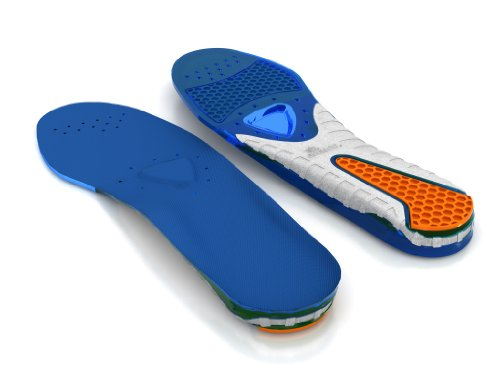 Spenco Gel Comfort Shoe Insole with Cushioning and Support, Women's 15-16 / Men's 14-15