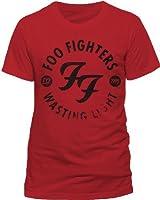 Collectors Mine Herren T-Shirt RTFFI550 Foo Fighters - Wasting Light Red