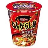 日清 とんがらし麺 カラシビタンメン 1ケース(20個)