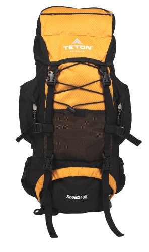 TETON Sports Scout 3400 Internal Frame Backpack (Mecca Orange)