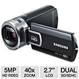 Samsung HMX-QF20 Flash Memory HD Digital Video Camcorder (Black)