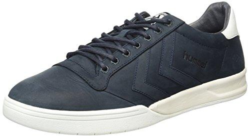 hummel Hml Stadil Winter Low Sneaker, Scarpe da Ginnastica Basse Unisex - Adulto, Blu (Total Eclipse), 41 EU