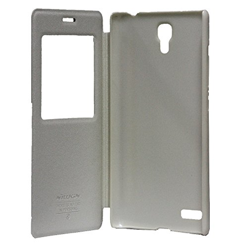 sale retailer 7fde5 7415b Jo Jo Nillkin SPARKLE SERIES S View Leather Flip Cover Case For Xiaomi  Redmi Note 4G 5.5 inch White
