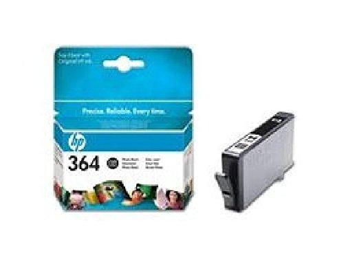 CB317EE#BA1 HP Ink Crtrg 364 Photo Schwarz HP 364 Schwarz mit Vivera Tinte für HP Photosmart D5460, B8550, C6380, C6324,C5324, HP Deskjet 3070A, 3520, HP Officejet 4620, 4622. Län