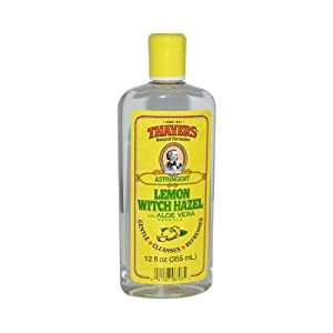 Thayers Witch Hazel with Aloe Vera Astringent, Lemon 11.5 oz (a)