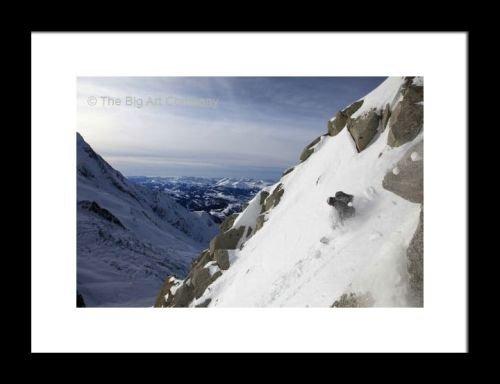 framed-print-a-snowboarder-tackles-a-challenging-off-piste-descent-on-mont-blanc