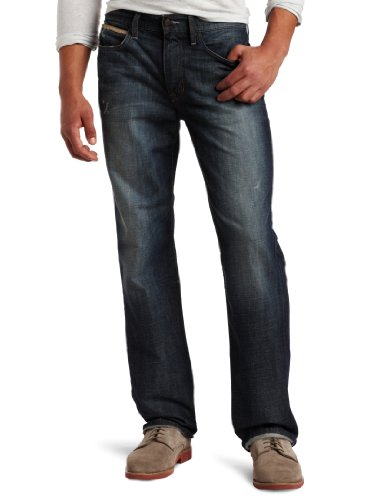 """Joe's Jeans Men's Big-Tall 37"""" Inseam Athlete Fit Relaxed Jean in Trey"""