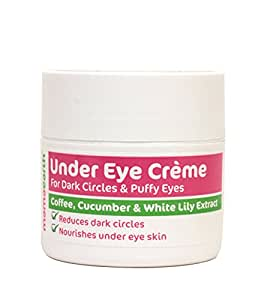 Mamaearth Under Eye Cream to Reduce Dark Circles and Puffiness (50 ML)