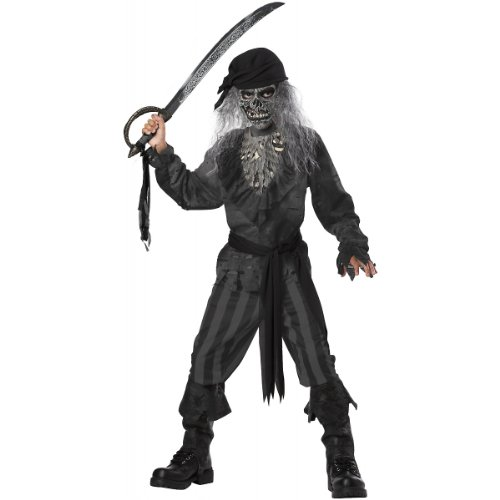 Ghost Ship Pirate Costume - Large