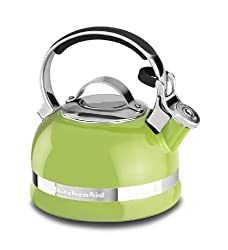 KitchenAid KTEN20SBKL 1.9-Litre Kettle with Handle and Trim Band (Sunkissed Lime)