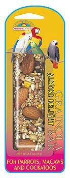 Cheap 4PK Grainola Almond Delight Bar 2.5oz (card) (Catalog Category: Bird / Honey Sticks) (BSS85112)
