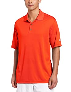 Adidas Golf Men's Climalite Solid Polo Shirt by Adidas Golf