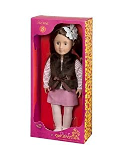 "Our Generation 18"" Non Poseable SIENNA Doll"
