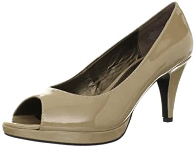 Amazon.com: Bandolino Women's Mylah Peep-Toe Pump: Shoes