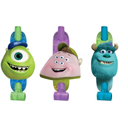 Monsters University Inc. Blowouts (8ct)