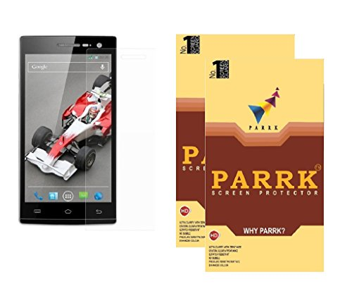 PARRK Diomond Screen Guard for Xolo Q1200 Pack of 2  available at amazon for Rs.199
