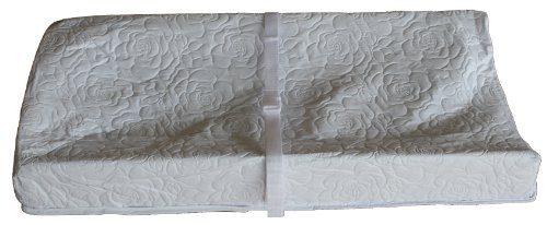Review Colgate Mattress 3 Sided Contour Changing Pad, Quilted White