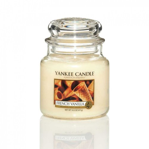 Yankee Candle Medium French Vanilla Jar Candle 11412