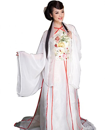 Chinese Cosplay halloween Fairy Costume Hanfu Tang Dynasty Royal Stage Costume