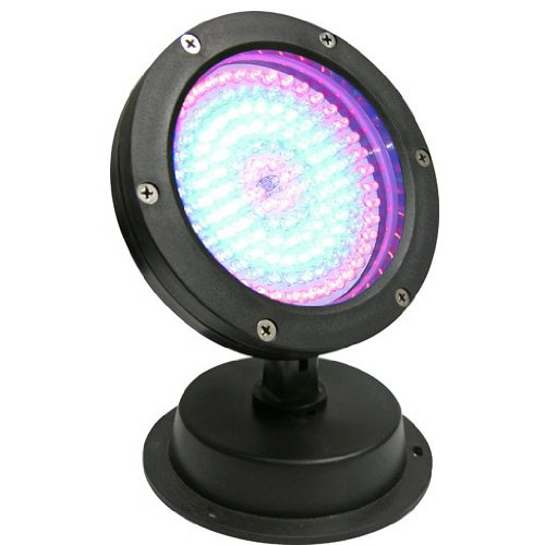 144 Red, White, Blue LED Color Changing Pond Fountain Landscape Light