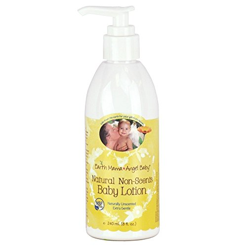Earth Mama Angel Baby Natural Non-Scents Baby Lotion - Fragrance Free - 8 oz - 1