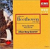 ベートーヴェン : 弦楽四重奏曲第15番&第16番