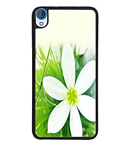 PrintDhaba Flower D-2435 Back Case Cover for HTC DESIRE 820 (Multi-Coloured)