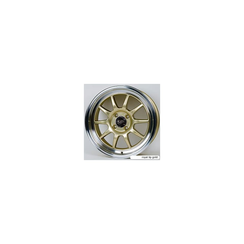 Rota GT3 Royal Lip Gold (15x7.0 +40 4x100)    Set of 4 Wheels