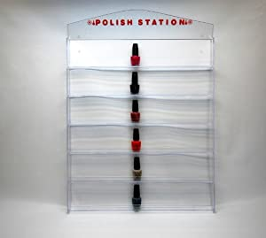 90 Bottles Nail Polish Wall Rack