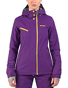 Bench Issential Veste de ski Femme Dark Purple FR : S (Taille Fabricant : S)