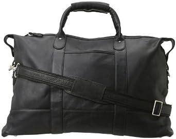 Latico Men's Carriage Duffel Bag, Black