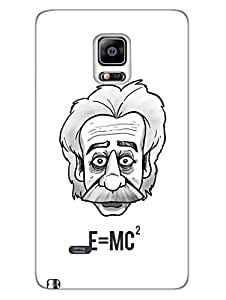 Samsung Note 4 Edge Cases & Covers - Einstein Equation - Nerd - Designer Printed Hard Shell Case