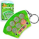 Mini Whack It Game Keychain with Sound and Lights Now You Can Enjoy Big Arcade Fun in a Convenient Travel Size with Mini Whack-it!