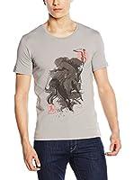 Trussardi Jeans Camiseta Manga Corta (Gris)