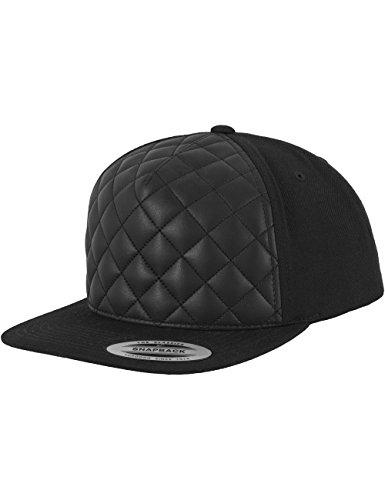 Flexfit  - Cappellino Diamond Quilted Nero, Taglia Unica
