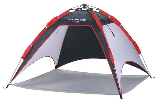 CAPTAIN STAG UV One Touch Shelter 180BK M-3130