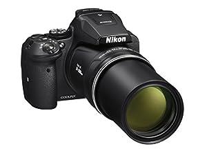 Nikon Coolpix P900 Multipo Cámara Digital Compacta, 16 MP, 83 X Zoom, VR, Pantalla LCD de 3