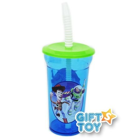 Disney Pixar Toy Story 12 Oz. Sports Tumbler w/ Lid & Straw
