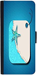 Snoogg Abstract Summer Background Designer Protective Phone Flip Case Cover For Lenovo A6000